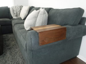 Sofa armrest table beaubilt side of armrest table watchthetrailerfo