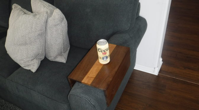 Sofa armrest table beaubilt watchthetrailerfo