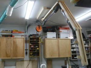 Overhead Dust Collection Boom Arm Beaubilt